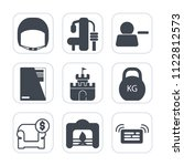 premium outline  fill icons set ... | Shutterstock .eps vector #1122812573