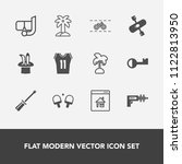 modern  simple vector icon set... | Shutterstock .eps vector #1122813950