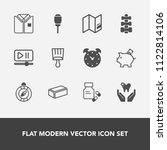 modern  simple vector icon set... | Shutterstock .eps vector #1122814106