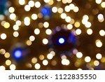 abstract circular bokeh... | Shutterstock . vector #1122835550