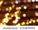 abstract circular bokeh... | Shutterstock . vector #1122835556