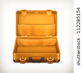 open suitcase  bitmap copy | Shutterstock . vector #112285154