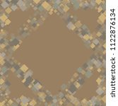 rhombus retro minimal geometric ... | Shutterstock .eps vector #1122876134