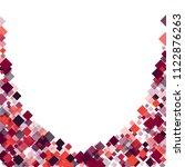 rhombus frame minimal geometric ...   Shutterstock .eps vector #1122876263