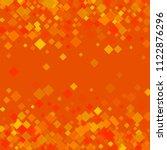 rhombus orange minimal...   Shutterstock .eps vector #1122876296