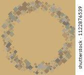 rhombus vintage minimal... | Shutterstock .eps vector #1122876539
