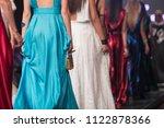 fashion show  catwalk event ... | Shutterstock . vector #1122878366