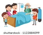vector illustration of family... | Shutterstock .eps vector #1122884099