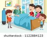 vector illustration of family... | Shutterstock .eps vector #1122884123