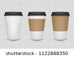 vector realistic 3d paper... | Shutterstock .eps vector #1122888350