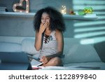 african american college... | Shutterstock . vector #1122899840