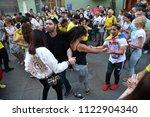 moscow  russia   june 23  2018  ... | Shutterstock . vector #1122904340