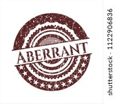 red aberrant distressed with... | Shutterstock .eps vector #1122906836