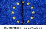 Flag Of European Union Painted...