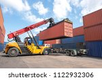 industrial logistics and... | Shutterstock . vector #1122932306