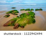 moss rocks mallacoota  just... | Shutterstock . vector #1122942494
