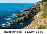eden coast  eden is a small... | Shutterstock . vector #1122943130