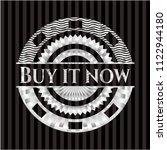 buy it now silver shiny emblem | Shutterstock .eps vector #1122944180