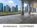 panoramic skyline and modern... | Shutterstock . vector #1122948683