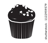 isolated muffin icon   Shutterstock .eps vector #1122959579