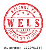 "rubber stamp ""welcome to wels ... 