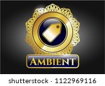 shiny badge with tag icon and... | Shutterstock .eps vector #1122969116
