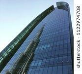 burj khalifa s reflection on...   Shutterstock . vector #1122974708