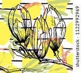 tropical  stripe  animal motif. ...   Shutterstock .eps vector #1122992969