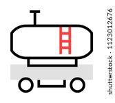 fuel tank petrol  | Shutterstock .eps vector #1123012676