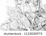 gray and white natural marble... | Shutterstock . vector #1123030973
