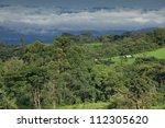 landscape in bamenda highlands  ... | Shutterstock . vector #112305620