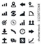 set of vector isolated black... | Shutterstock .eps vector #1123072268