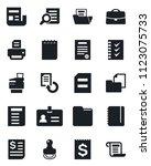 set of vector isolated black... | Shutterstock .eps vector #1123075733