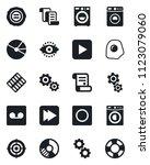 set of vector isolated black... | Shutterstock .eps vector #1123079060