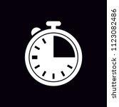 chronometer vector icon | Shutterstock .eps vector #1123082486