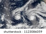Hurricanes Cyclone View From Space - Fine Art prints