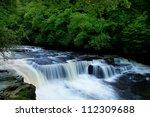 Dundaff Linn Waterfall On Clyde