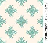 seamless vector decorative... | Shutterstock .eps vector #1123110098
