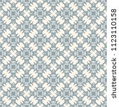 seamless vector decorative... | Shutterstock .eps vector #1123110158