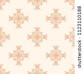 seamless vector decorative... | Shutterstock .eps vector #1123110188