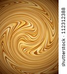 Coffee Swirl Background. Vector