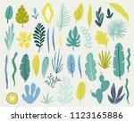 summer time illustration.... | Shutterstock .eps vector #1123165886