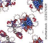 editable. elegant seamless... | Shutterstock .eps vector #1123170329