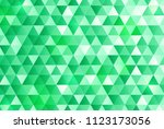 green triangle pattern... | Shutterstock .eps vector #1123173056