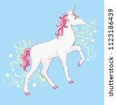 unicorn vector  illustration....   Shutterstock .eps vector #1123186439