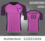 t shirt sport design  vector... | Shutterstock .eps vector #1123212656