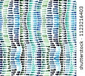seamless watercolour spots and... | Shutterstock . vector #1123216403