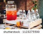 catering service. business ... | Shutterstock . vector #1123275500