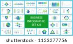 business inforgraphic design... | Shutterstock .eps vector #1123277756