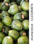 baby zucchini background   Shutterstock . vector #1123280876